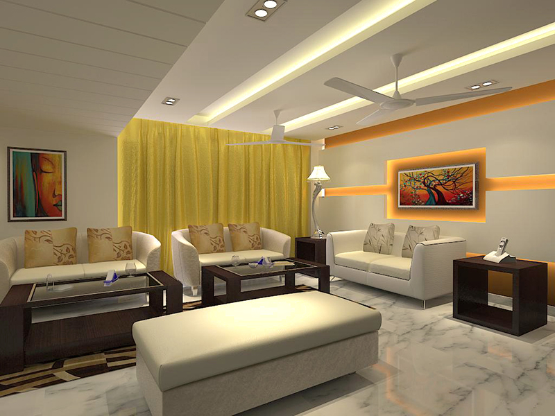 Interior design firm in delhi spaces talk for Drawing hall interior decoration