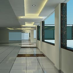 Rave Mall  Interior Design Sample