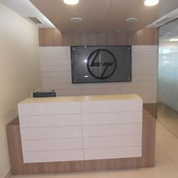 L n T Office Interior Design Sample